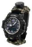 Offroad hodinky OUTDOOR s teplomerom WATERPROOF 30m