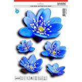 Samolepka, dekor kvety lekná 30 x 23 cm s UV filtrom s UV filtrem