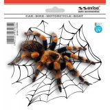 Samolepka Pavouk tarantule 15 x 13 cm s UV filtrom