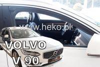 Protiprůvanové plexi, ofuky oken Volvo V90 5D 2016r =>, 2ks přední