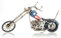 Model motocykla CHOPPER kovový 34 x 10 x 18 cm