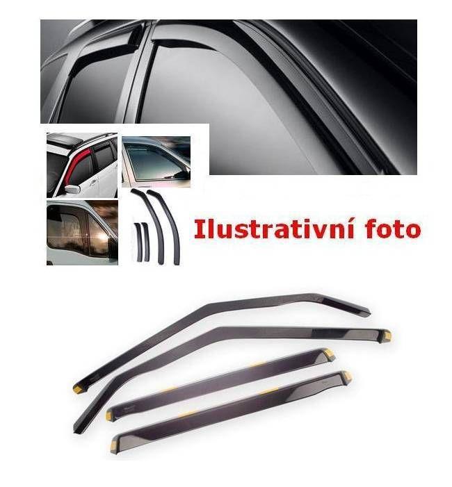 Plexi, ofuky bočních skel ŠKODA OCTAVIA II combi, 5D 2005 =>, přední + zadní HDT