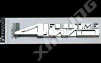 Samolepka FULLTIME 4WD 3D znak na auto
