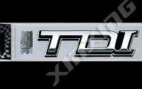 Zobraziť detail - Samolepka TDI 3D znak PLASTIC 11x3 cm