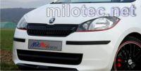 Přední lišta masky - ABS černá metalíza, Škoda Citigo