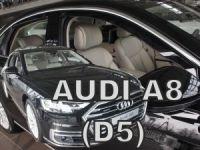 Ofuky plexi Audi A8 5D 2017r =>, predné + zadné