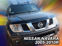 Deflektor Lišta prednej kapoty PKL Nissan Navara 2005-2010r