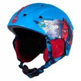 DETSKÁ prilba Lyže, Snowboard Spiderman 54-58 cm