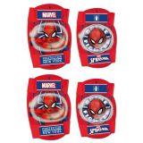 Chrániče kolien a lakťov pre deti Spiderman člověk pavouk