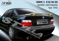Zadní spoiler křídlo zadní pro BMW 3 E36 => 1998r