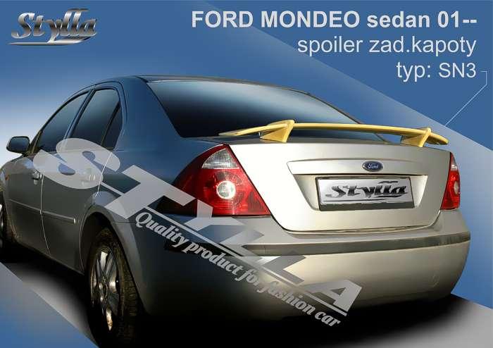 Spoiler, křídlo zadní kapoty na míru pro FORD Mondeo sedan od roku 2001r => Stylla