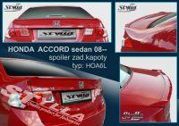 Zadní spoiler křídlo zadní pro HONDA Accord sedan 2008r =>