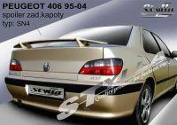 Zadní spoiler křídlo zadní pro PEUGEOT 406 1995-2004R