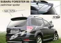 Zadní spoiler křídlo a střešní pro SUBARU Forester 2008r =>