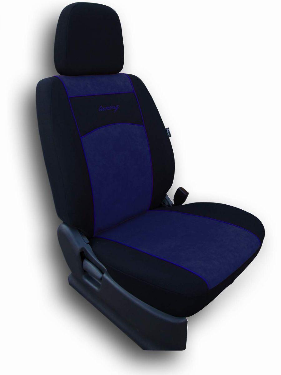 Autopotahy Argo Alcantara modré Vyrobeno v EU
