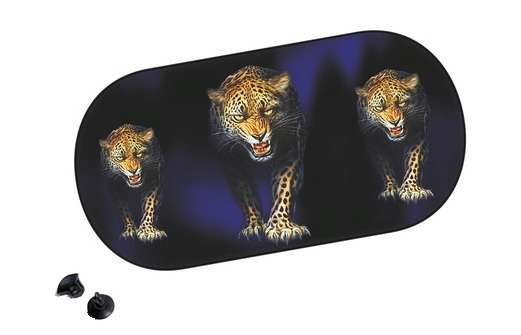 clona zadní leopard