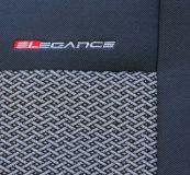 Autopotahy Renault Scenic II, 5 míst, od r. 2003-2009, šedo černé Vyrobeno v EU