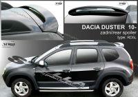 Spoiler zadní střešní horní DACIA Duster 2010r => i pro 2014 =>