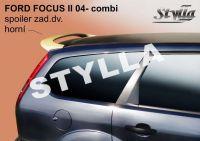 Zadní spoiler horní zadní pro FORD Focus II combi 2004r =>