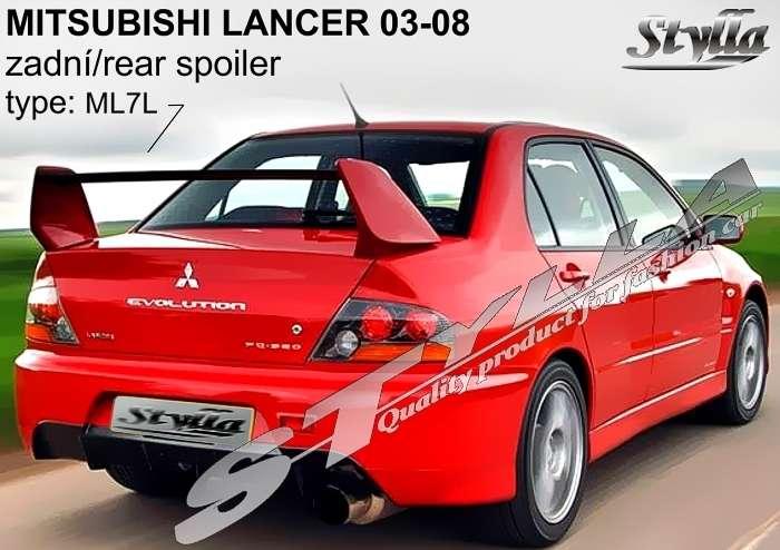spoiler Mitsubishi