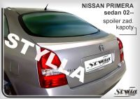 Zadní spoiler křídlo pro NISSAN Primera sedan 2002r =>