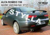 Zadní spoiler křídlo pro Alfa Romeo 156 sedan 1997-2005r