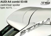 Spoiler zadní kapoty pro AUDI A4 combi 2001-2004r