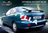 Spoiler zadní kapoty pro HYUNDAI Accent htb 1994-1998r