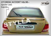 Spoiler zadní kapoty pro HYUNDAI Accent htb 1998-2000r