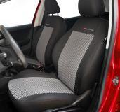 Autopotahy Citroen C3 , 5 dveř, od r. 2002 do 2008, šedo černé Vyrobeno v EU