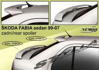 Zadní spoiler křídlo a střešní pro ŠKODA FABIA I sedan 99-2007r