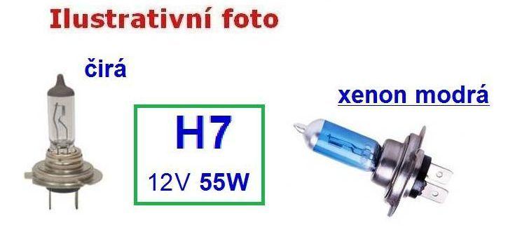 ŽÁROVKA H7 12V 60/55W, 1ks iz