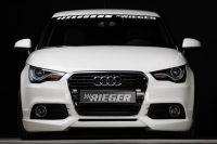 RIEGER spoiler pod originální přední nárazník pro Audi A1