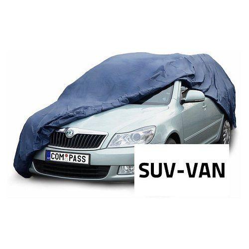 Celoroční ochranná plachta na auto SUV-VAN 515x195x142cm, NYLON Vyrobeno v EU