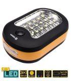 Svítilna ruční 24+1 LED s magnetem nebo zavěsit
