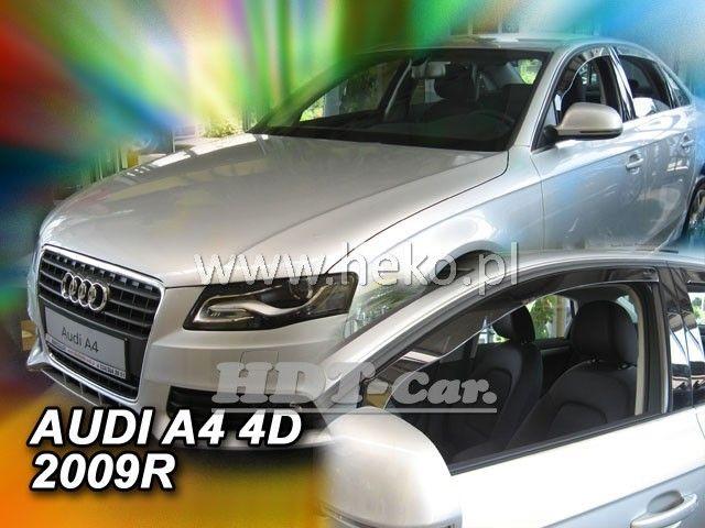 Plexi, ofukyAudi Audi A4 4D 2009R přední heko