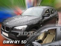 Plexi, ofuky BMW X1, 5D 2011 =>, přední HDT