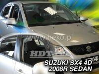 Plexi, ofuky bočních skel SUZUKI Sx4 sedan, 5D, 2006 =>, přední + zadní HDT