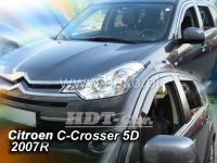 Plexi, ofuky Citroen C-Crosser 5D 2007 =>, přední HDT