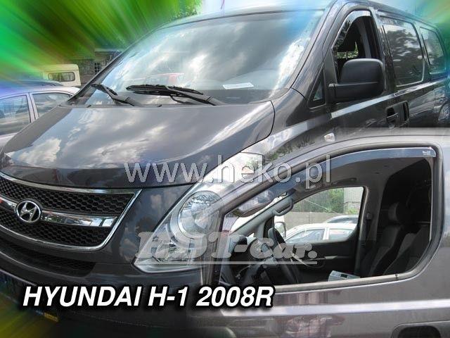 Plexi, ofuky Hyundai H1 4Dv 2008 => přední heko
