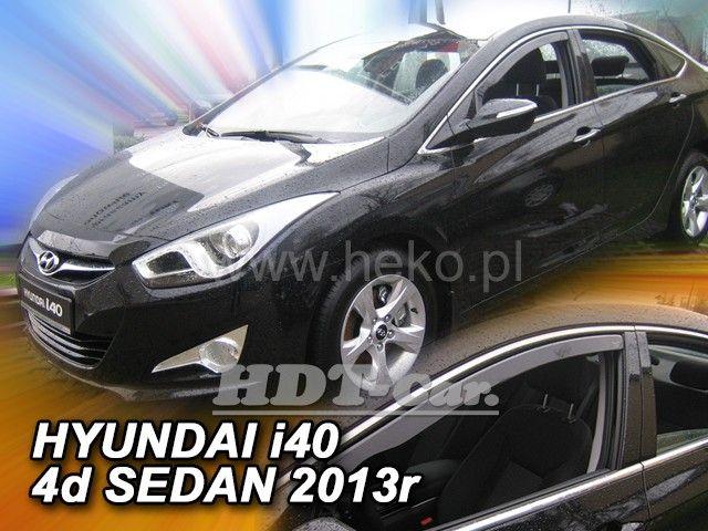 Plexi, ofuky Hyundai i40 combi, 5dv 2011r a dál přední HDT