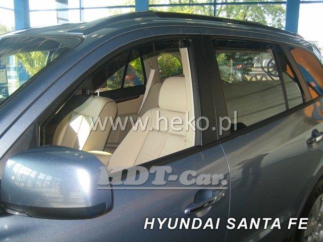 Plexi, ofuky Hyundai Santa FE 5D 2000 =>, přední HDT