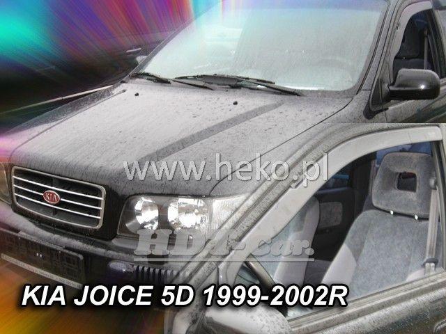 Plexi, ofuky KIA Joice, 5D, 99-2002r, přední heko