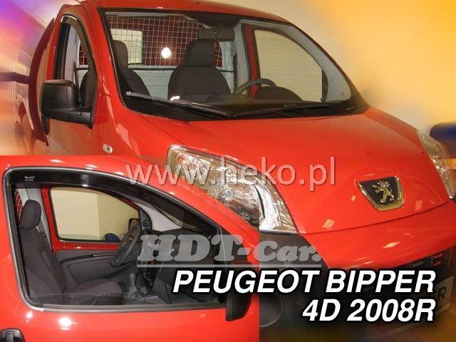 Plexi, ofuky PEUGEOT Bipper, 4/5D, 2008 =>, přední heko
