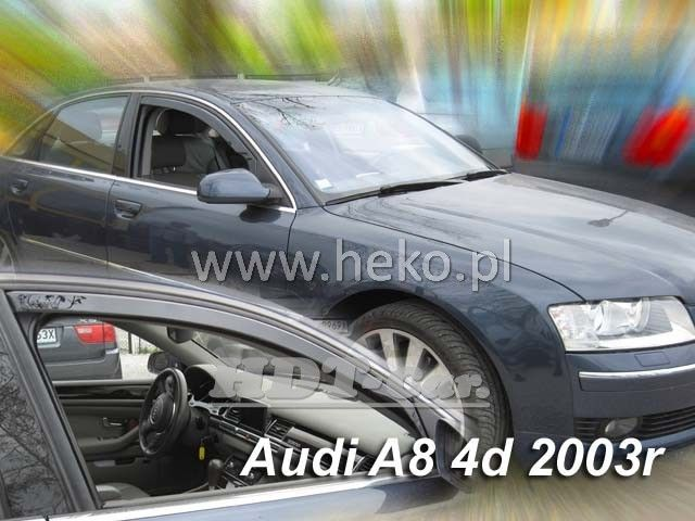 Plexi, ofukyAudi Audi A8 4D 2003R přední heko
