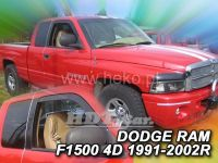 Plexi, ofuky Dodge Ram 1500 2/4D 1991=>2002