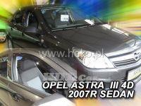 Plexi, ofuky OPEL Astra III H hatchback, 5D, 2004 =>, přední + zadní