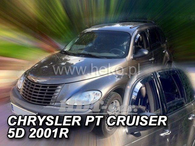 Plexi, ofuky Chrysler PT Cruiser 5D 2001 =>, přední heko