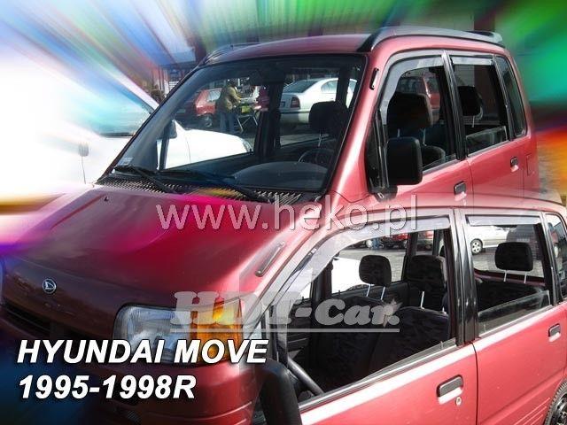 Plexi, ofuky Daihatsu Move 5D 95--98R + zadní heko
