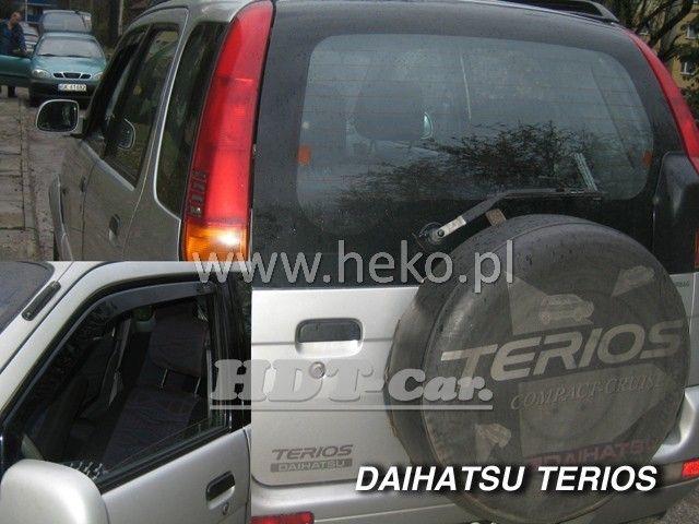 Plexi, ofuky Daihatsu Terios 5D OD 1998 =>, přední heko